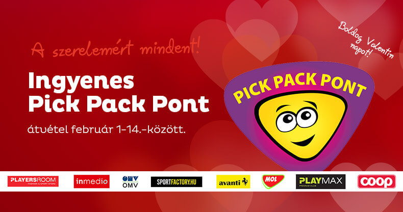 Ingyenes PickPackPont