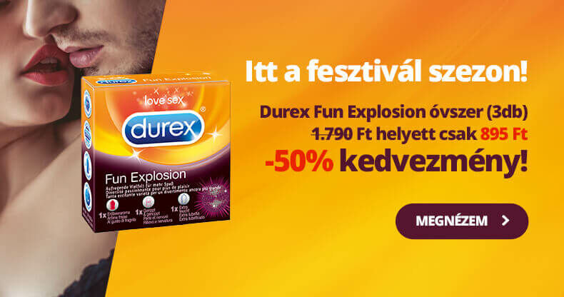 Hatalmas Durex akci