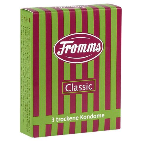 Fromms - síkosításmentes óvszer (3db)