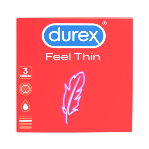 Durex Élethű érzés óvszer (3db)
