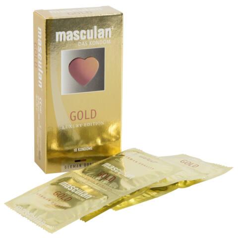 masculan Gold - vaníliás óvszer (10db)