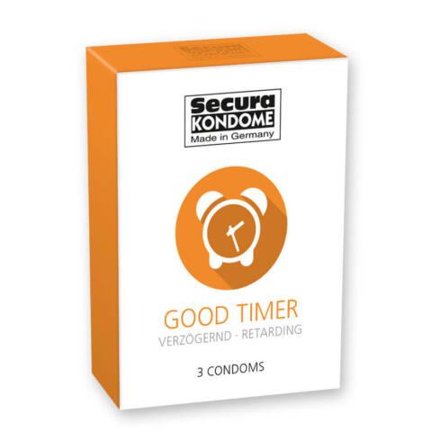 Secura Good Timer - ejakuláció késleltető óvszerek (3db)