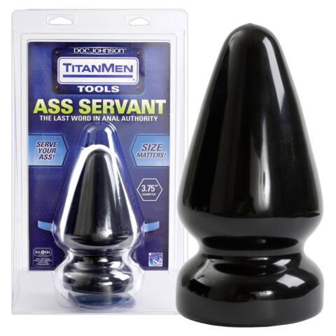 Ass Servant anál kúp (fekete)