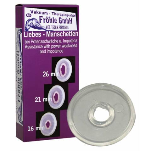 Orvosi péniszgyűrű - áttetsző (1,6cm)