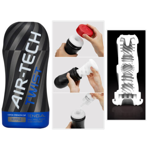 TENGA Air Tech Twist Ripple - maszturbátor