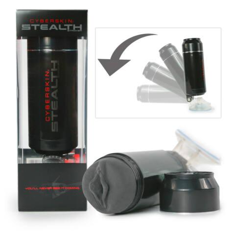 Stealth Stroker - vagina maszturbátor (fekete)
