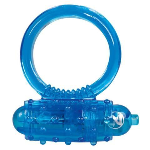 Tiszta szilikon péniszgyűrű - királykék