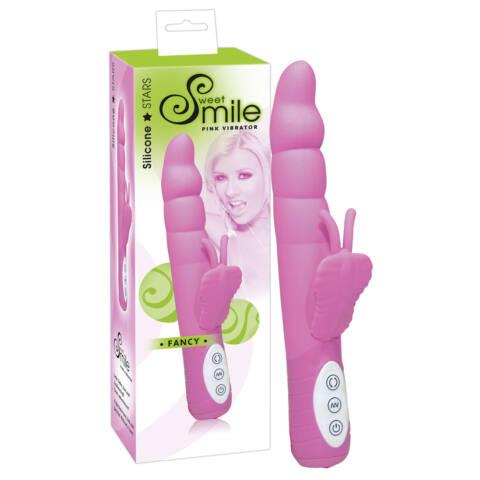 SMILE Fancy - élményvibrátor (rózsaszín)