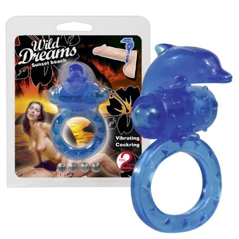 Wild Dreams péniszgyűrű - kék