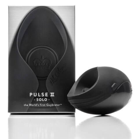 Pulse II Solo - újratölthető péniszvibrátor (fekete)