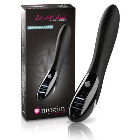 mystim Black Edition Electric Eric - elektro-stimulációs vibrátor
