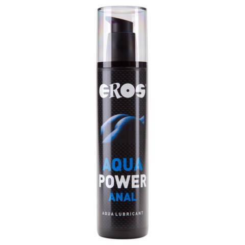 EROS Aqua Power - hosszantartó, vízbázisú anál síkosító (250ml)