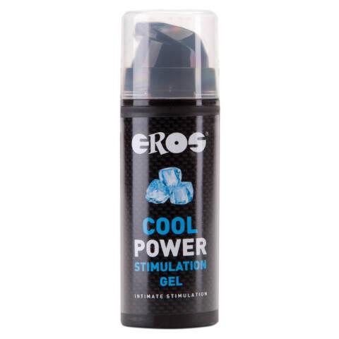 EROS Cool Power - stimulációs intim síkosító nőknek (30ml)