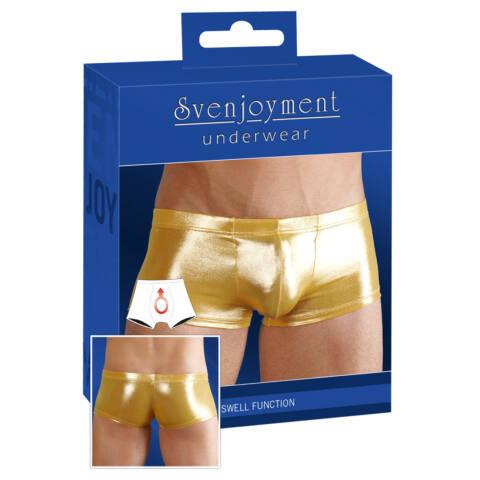 Selymes fényű boxeralsó - arany