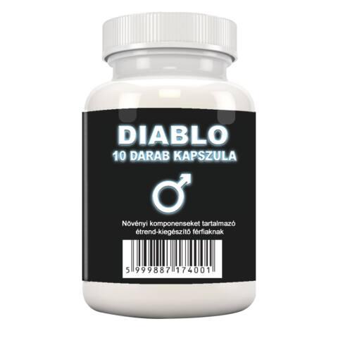 Diablo - növényi komponenseket tartalmazó étrend-kiegészítő férfiaknak (10db)
