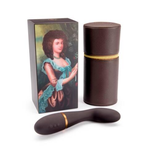 Coco De Mer Georgiana - akkus G-pont vibrátor (szürke)
