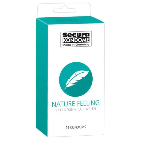 Secura Nature Feeling - extra vékony óvszerek (24db)