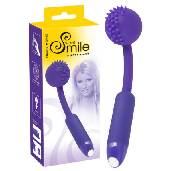 SMILE G-Spot - gömbös G-pont vibrátor (lila)