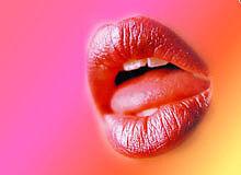csókos száj