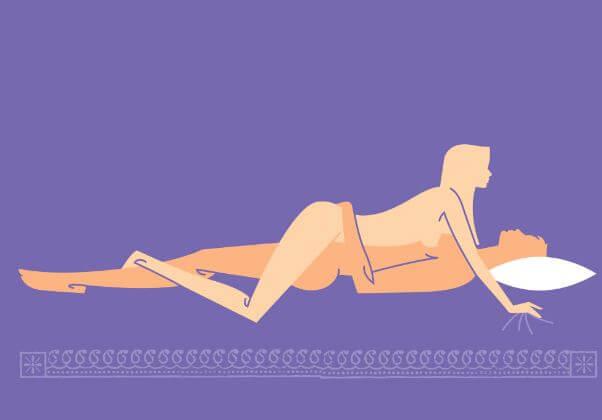 Teljes behatolás szexpóz